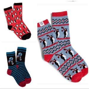Vera Bradley Fuzzy Sock Bundle-NWT-THREE Pairs